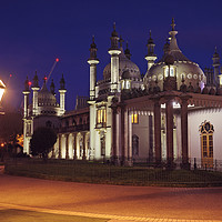 Buy canvas prints of Brighton Royal Pavilion at dusk by Chris Harris