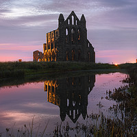 Buy canvas prints of Whitby Abbey by john vince