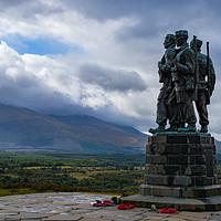 Buy canvas prints of Commando Memorial at Speen Bridge by Tom Dolezal