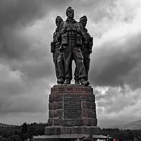 Buy canvas prints of Commando Memorial by Tom Dolezal