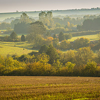 Buy canvas prints of Autumn Landscape by Gill Kennett