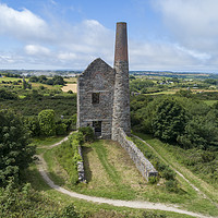 Buy canvas prints of Wheal Peevor Stamps 2 by Azimuth Images