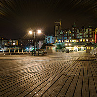 Buy canvas prints of Cromer Pier 1 by Sarah Toon LRPS