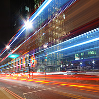 Buy canvas prints of London Rush Hour by Sarah Toon LRPS