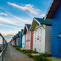 Buy canvas prints of Cromer Huts by Sarah Toon LRPS