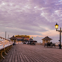 Buy canvas prints of Cromer Pier by Sarah Toon LRPS