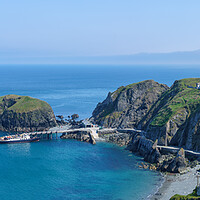 Buy canvas prints of Tourists land from MS Oldenburg on Lundy Island in Devon by Steve Heap