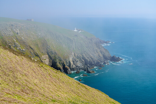 Rocky shoreline of the Island of Lundy off Devon Canvas Print by Steve Heap