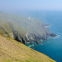 Buy canvas prints of Rocky shoreline of the Island of Lundy off Devon by Steve Heap