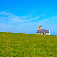Buy canvas prints of Old church on the Island of Lundy off Devon by Steve Heap