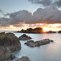 Buy canvas prints of Sark Dawn by Anne Rogers LRPS