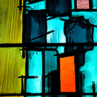 Buy canvas prints of Stained Glass #2 by Peter Zabulis