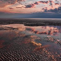 Buy canvas prints of Evening Reflections by Peter Zabulis