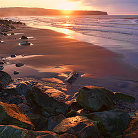 Buy canvas prints of Evening Light at Whitby by Peter Zabulis