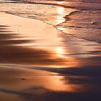 Buy canvas prints of Sunset Reflection by Peter Zabulis