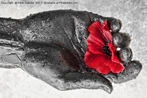 Remembrance Canvas print by Peter Zabulis