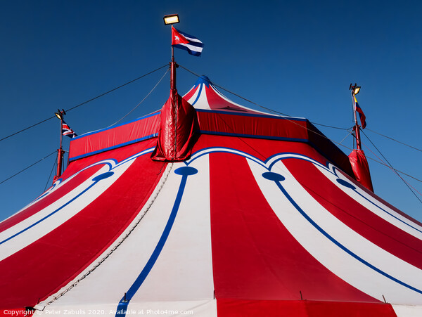 The Big Top Canvas Print by Peter Zabulis