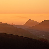 Buy canvas prints of Towards Chrome Hill, Peak District, dawn by geoff shoults