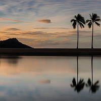 Buy canvas prints of Hawaiian Silhouette by Gary Parker