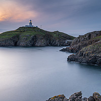 Buy canvas prints of Strumble Head Lighthouse, Pembrokeshire  by Gary Parker