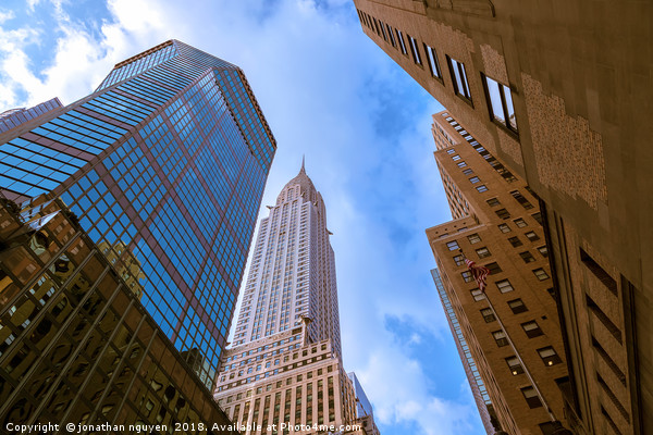 The Chrysler Building Canvas print by jonathan nguyen
