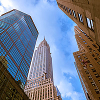Buy canvas prints of The Chrysler Building by jonathan nguyen