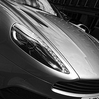 Buy canvas prints of Aston Martin Sports Car by Rob Cole