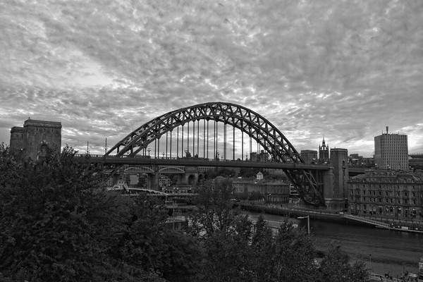 Tyne Bridge Sunset Newcastle-Gateshead Framed Print by Rob Cole