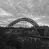 Buy canvas prints of Tyne Bridge Sunset Newcastle-Gateshead by Rob Cole