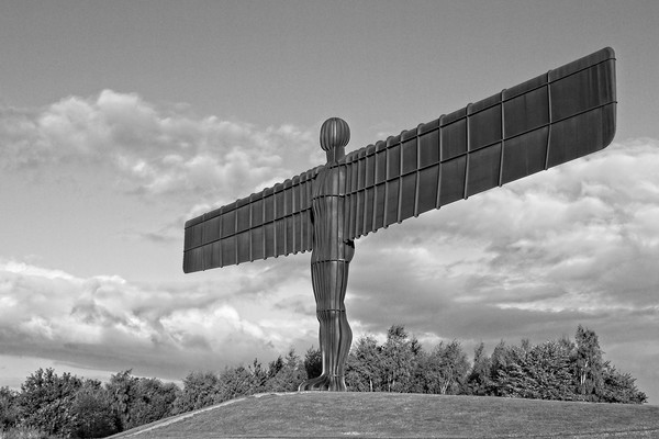 Angel of the North, North East England Canvas Print by Rob Cole