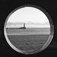 Buy canvas prints of Roker Pier and Lighthouse by Rob Cole