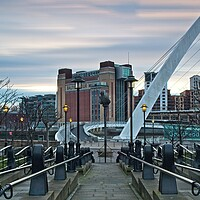 Buy canvas prints of Baltic Flour Mill Dawn, Newcastle by Rob Cole