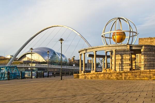 The Swirle Pavillion, Newcastle Print by Rob Cole