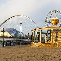 Buy canvas prints of The Swirle Pavillion, Newcastle by Rob Cole