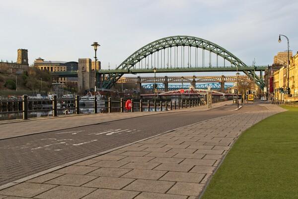 The Tyne Bridge, Newcastle Acrylic by Rob Cole