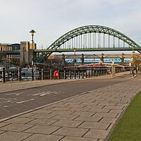 Buy canvas prints of The Tyne Bridge, Newcastle by Rob Cole
