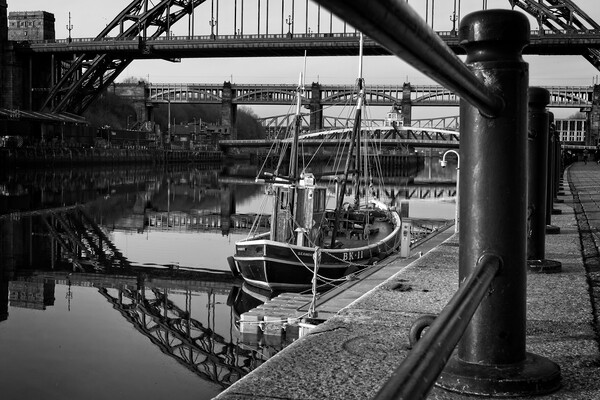 Old Lifeboat, Newcastle Framed Print by Rob Cole