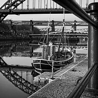Buy canvas prints of Old Lifeboat, Newcastle by Rob Cole