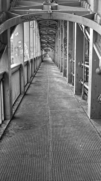 High Level Bridge, Newcastle Print by Rob Cole