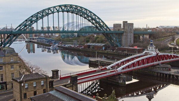 Tyne Bridges, Newcastle Print by Rob Cole