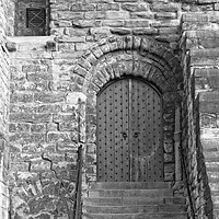 Buy canvas prints of Castle Keep Door, Newcastle by Rob Cole