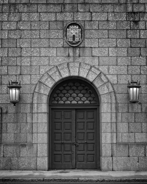 Arched Doorway, Tyne Bridge Print by Rob Cole