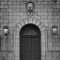 Buy canvas prints of Arched Doorway, Tyne Bridge by Rob Cole