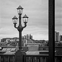 Buy canvas prints of Tyne Bridge Lanterns by Rob Cole