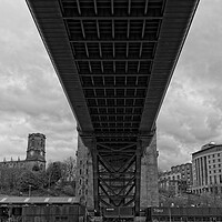 Buy canvas prints of Tyne Bridge, Newcastle by Rob Cole