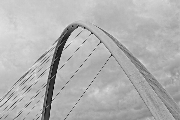 Gateshead Millennium Bridge Framed Mounted Print by Rob Cole