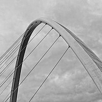 Buy canvas prints of Gateshead Millennium Bridge by Rob Cole