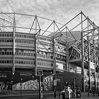 Buy canvas prints of St James Park, Newcastle by Rob Cole