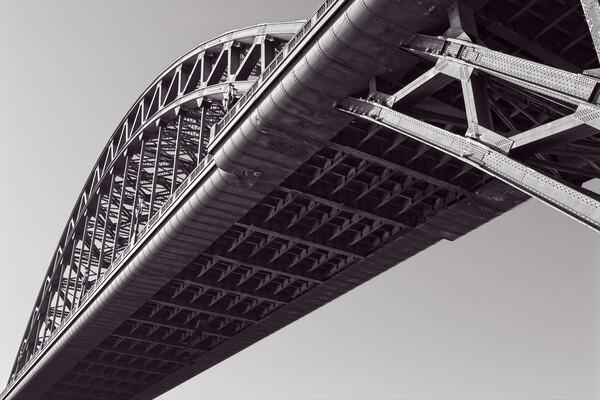 The Tyne Bridge, Newcastle Print by Rob Cole