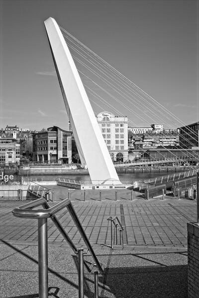 Gateshead Millennium Bridge Print by Rob Cole